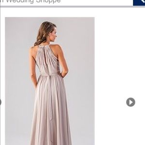 kennedy blue Dresses - Kennedy Blue Silver Bridesmaid Dress